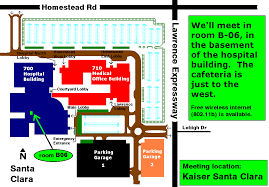 kaiser san jose facility map kaiser san jose facility map