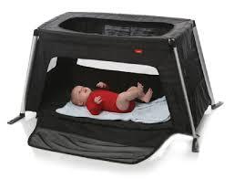 phil u0026teds traveler travel crib in black 11 cool camping crib
