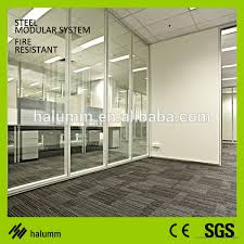 Soundproof Interior Walls Glass Pvc Office Partition Wall Glass Pvc Office Partition Wall