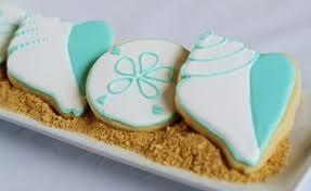 seashell shaped cookies simple summer seashell cookies bake at 350