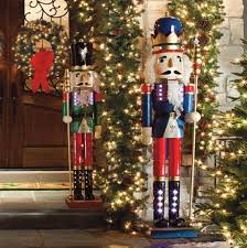 Outdoor Christmas Decor Pinterest - life size nutcracker outdoor christmas decorations ideas