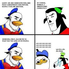 Goofy Face Meme - gooby and dolan handsome face know your meme