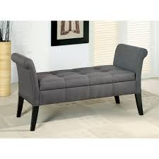 bench tufted bed bench dazzling fabric upholstery tufted