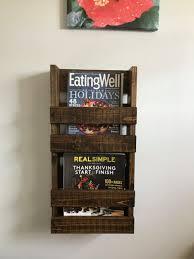 furniture metal magazine rack toilet wall wooden mounted wood