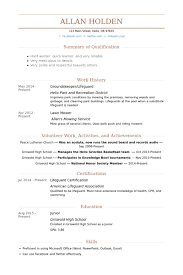 Lawn Care Resume Sample by Groundskeeper Resume Samples Visualcv Resume Samples Database
