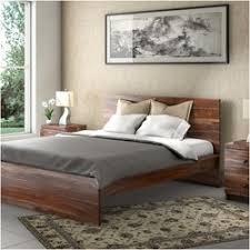 rustic solid wood platform beds sierra living concepts