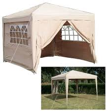 Patio Gazebos by Garden Pop Up Gazebo Folding Waterproof Gazebo Curtains Zipper