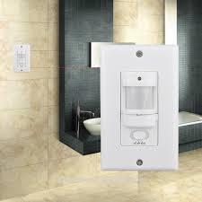 Bathroom Sensor Lights by 110v Pir Occuapncy Wall Switch Lights Passive Infrared Motion