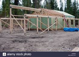 sips cabin cabin being constructed using sips panel structural insulated stock