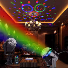 floor mounted stage lighting ir remote rgb led crystal magic rotating ball stage light eperiod