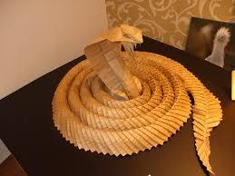 Origami Snake - origami paper snake origami paper origami and oragami