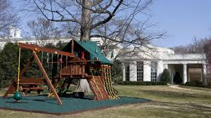 black friday swing set obama daughters u0027 white house swing set donated video abc news
