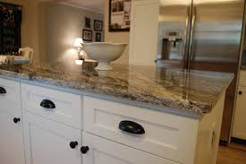 best color granite with off white cabinets home photos by design