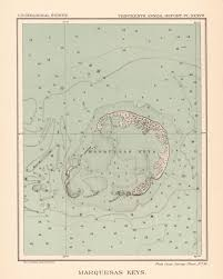 Port St Joe Florida Map by Map Antique Marquesas Keys Florida From Thirteenth Annual Report