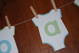 baby shower banner ideas using a cricut a piece of life u0027s pie