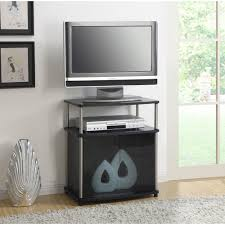 Furniture Design Of Tv Cabinet Convenience Concepts Designs2go No Tools Tv Stand With Black Glass