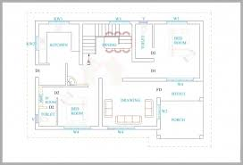 single home plans amazing 3 bedroom house plans in kerala single floor 3d arts