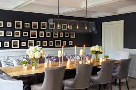 neoclassical design dining room traditional with panelling flush