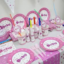 party supply wholesale wholesale 1pack 45pcs baby girl kids 1st birthday theme