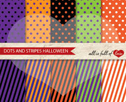 halloween paper products halloween digital paper pack dots and s design bundles