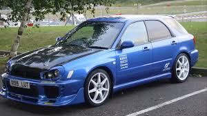 tuned subaru subaru impreza wagon tuning cars youtube