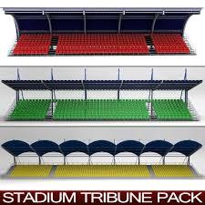 stadium seating 3d models for download turbosquid