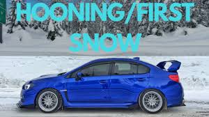 subaru snow meme hooning a lowered subie first snow 2015 subaru wrx 2016 2017