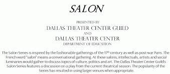 Salon Invitation Card Dtc Guild Salon Inherit The Wind