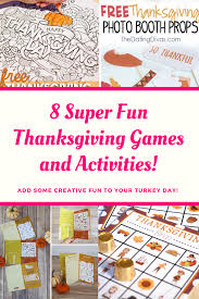 8 thanksgiving family and activities