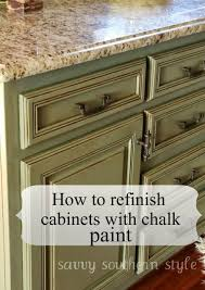 can you put chalk paint on kitchen cabinets kitchen cabinets tutorial refinishing cabinets