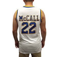 quincy mccall 22 crenshaw white basketball jersey love and