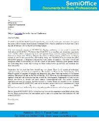invitation letter for annual conference