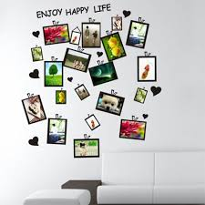 modern style diy creative original design black photo frame wall modern style diy creative original design black photo frame wall stickers decor home room office art sticker in wall stickers from home garden on