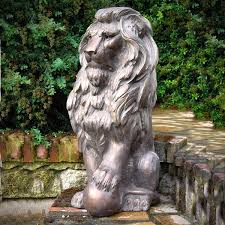 lion garden statue large lion garden statue animal garden sculptures statue for