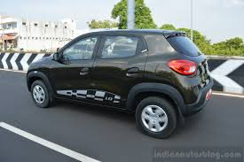 renault kwid on road price 125 000 renault kwids will be on indian roads by end 2016