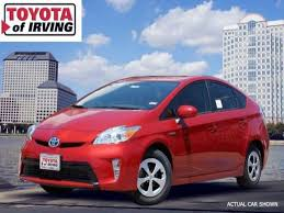 toyota prius sales 2013 2013 toyota prius for sale in irving toyota of irving