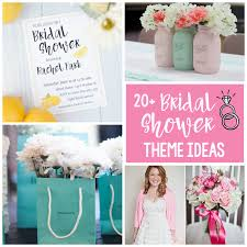 ideas for bridal shower 20 bridal shower themes squared
