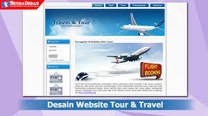 membuat web html cara membuat desain website travel dan tour menggunakan bahasa html