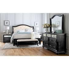 marilyn dresser and mirror ebony american signature furniture