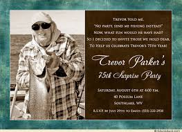 fishing birthday invitations for men elegant surprise photo