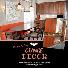 orange kitchens that are pumpkin pie ready for halloween
