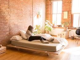 Bed Frame Designs 2015 A Minimal Platform Bed For City Living Design Milk