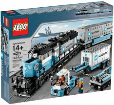 Lego Storage Containers Amazon - amazon com lego creator maersk train 10219 toys u0026 games riley