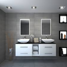 Vanity Basins Online Sonix 1500 Glass Top Wall Hung Vanity Unit Inc Counter Top Basins