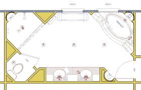large master bathroom floor plans large space offer seating design b u i l d