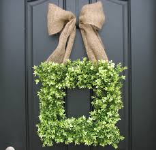 guides u0026 ideas simple boxwood wreath design for home accessories