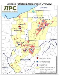 Canton Ohio Map by Operations Alliance Petroleum Corporation