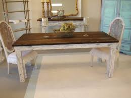 dining tables shabby chic chairs shabby chic kitchen table for