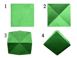 simple origami christmas tree