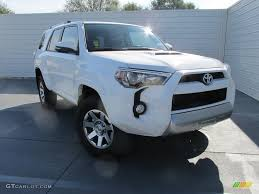 toyota 4runner 2017 white 2016 super white toyota 4runner trail premium 4x4 108572765 photo